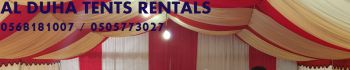 Wedding Tents Rental in Ras Al Khaimah UAE